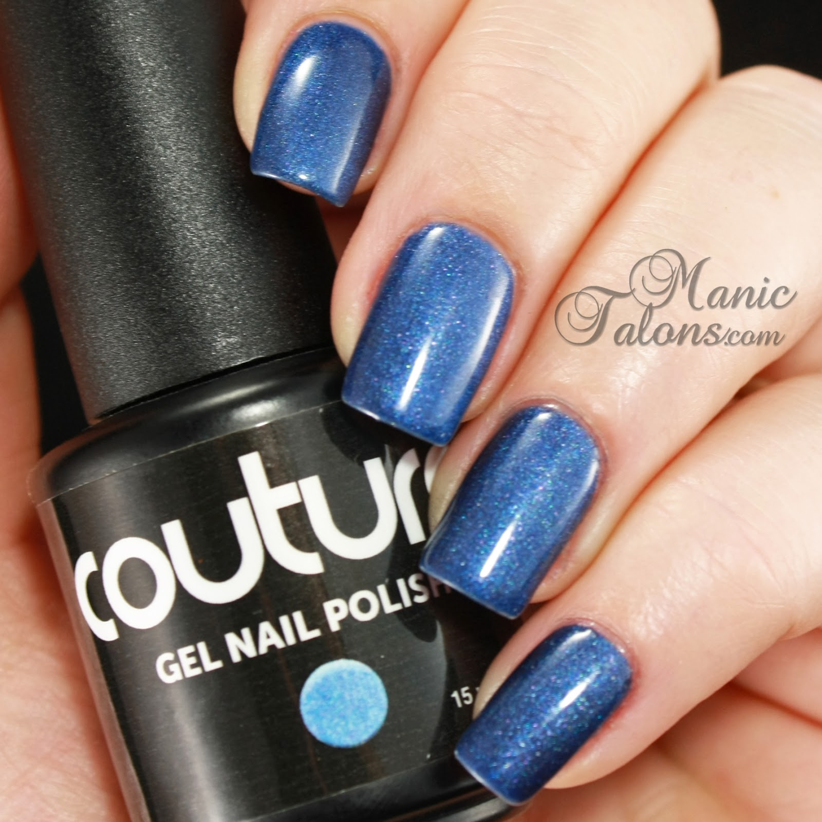 Couture Gel Nail Polish After Midnight Swatch