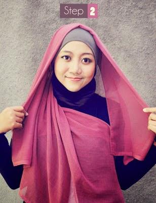 jilbab segi empat 2