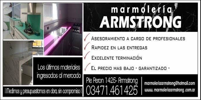 ESPACIO PUBLICITARIO: MARMOLERIA ARMSTRONG