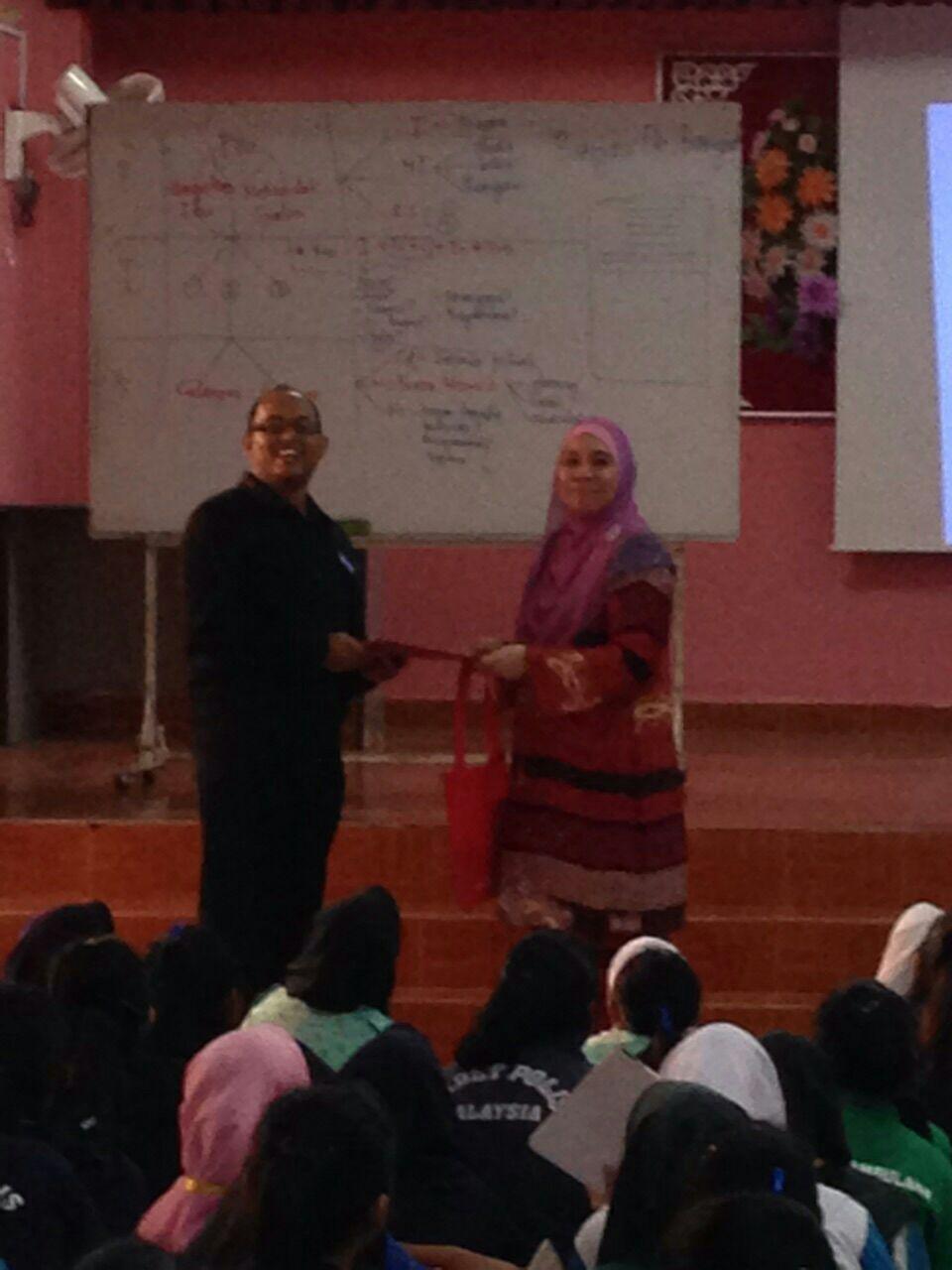 Program Tinta Za'ba SMK Convent, Kajang Tingkatan 1 & 2