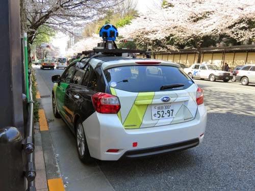 Googleマップの撮影車03