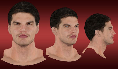 NBA 2K13 Tiago Splitter Cyberface Mod