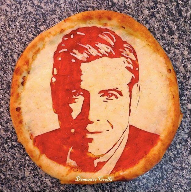 Портреты на пицце: шедевры Доменико Кроллы