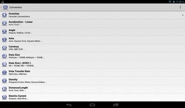 Unit Converter Plus android apk - Screenshoot