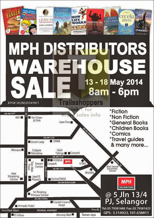 MPH Distributors Warehouse Sale Petaling Jaya Selangor