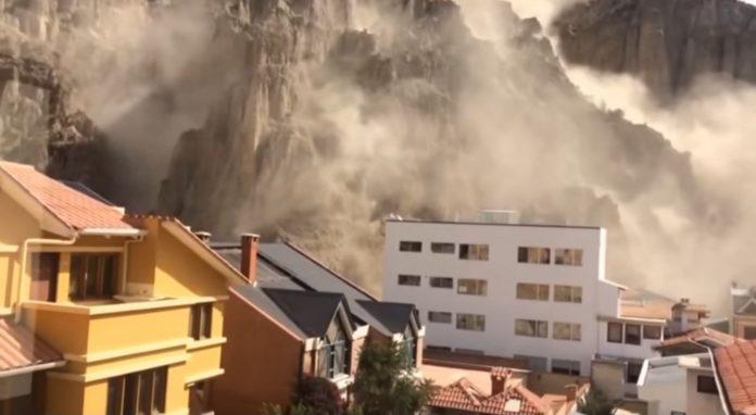 Εικόνες σοκ από τα 6.8 Ρίχτερ στη Βολιβία (Βίντεο)
