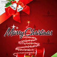 Ready to Print Christmas Greeting Card PSD Template