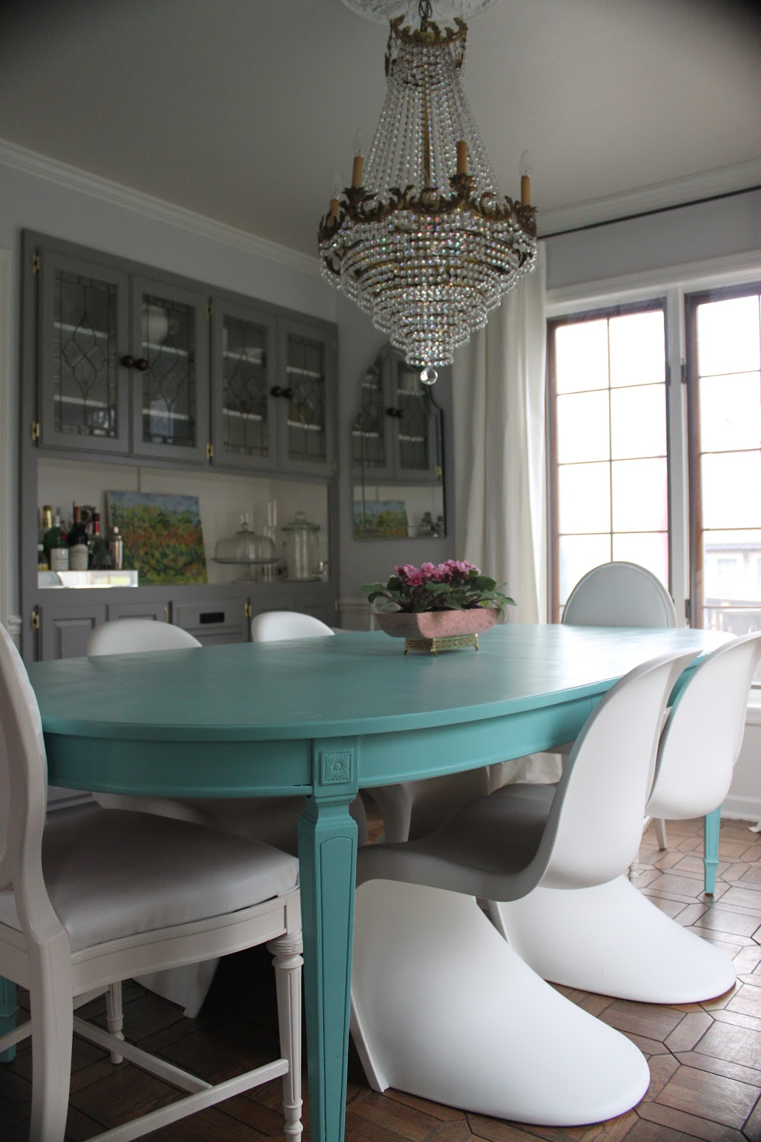 A SHOUT OUT AND MORE PICTURES OF OUR LIVING DINING ROOMS