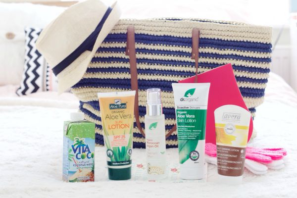 Holland & Barret Beach bag essentials