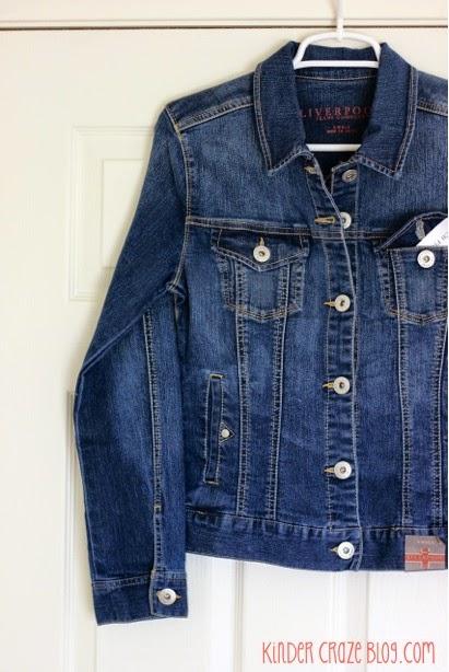 Liverpool brand stretch denim jacket from Stitch Fix