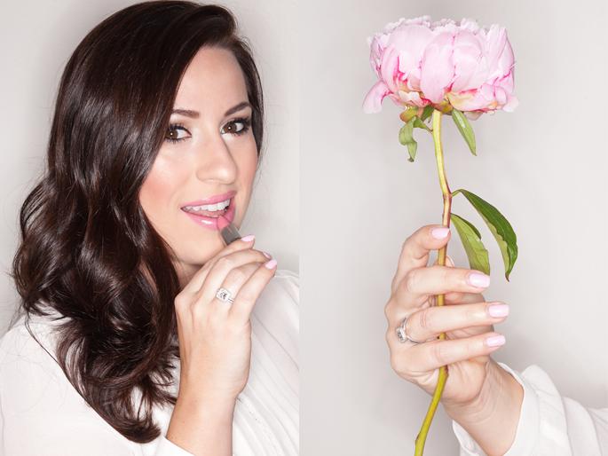 pink peonies, beauty blogger, mac lovelorn, summer makeup ideas