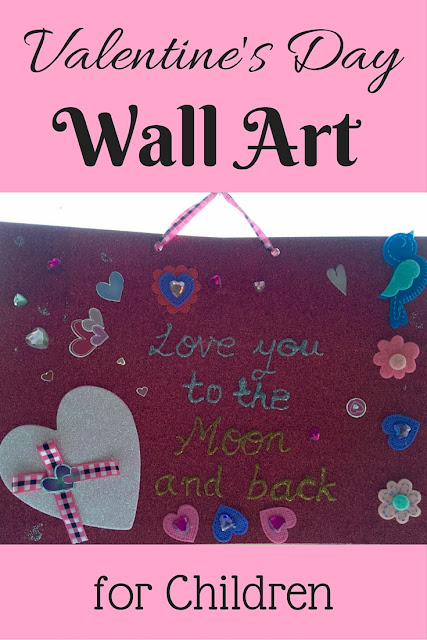 Valentine's Day Wall Art for Children