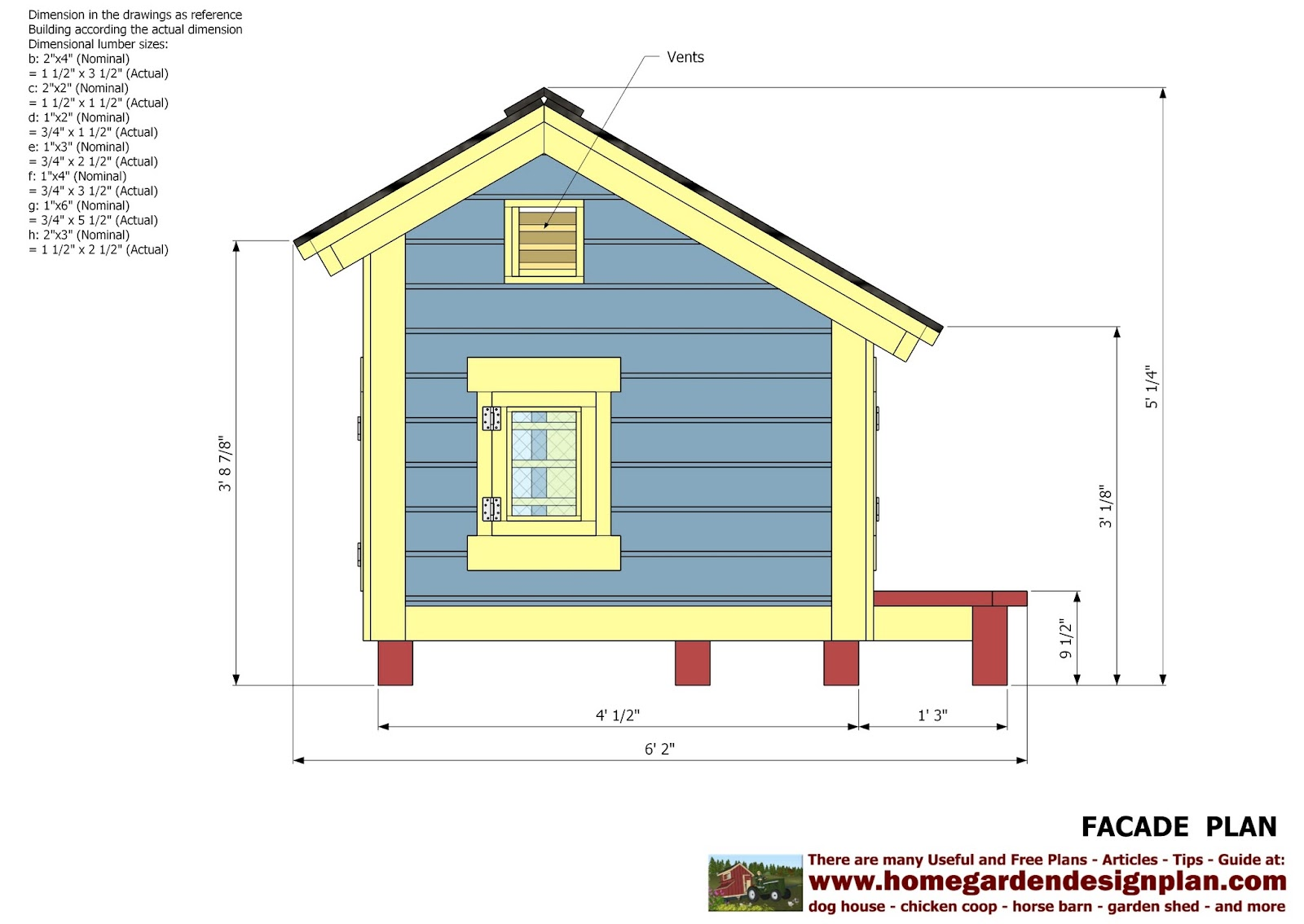 Home Garden Plans Dh303 Dog House Plans Dog House