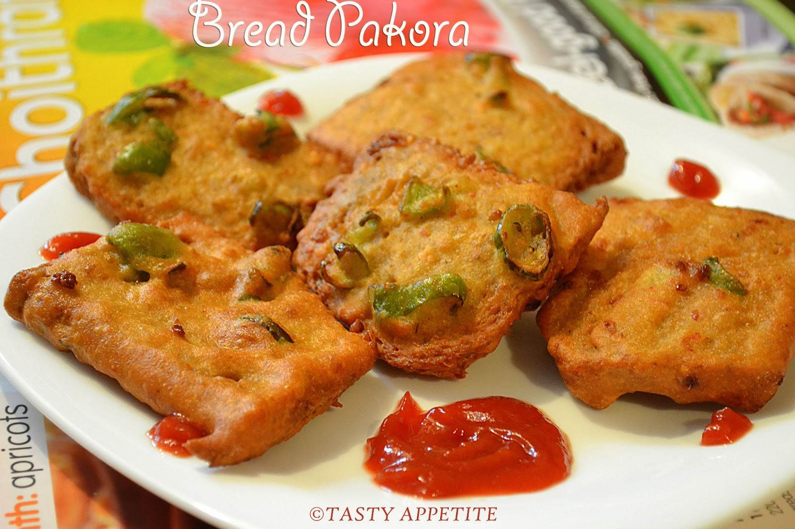 How to make bread pakora fritter recipes indian snacks recipes forumfinder Images