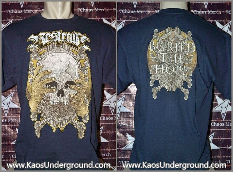 band restrain kaos underground bandung hardcore 7chaos merch riotic