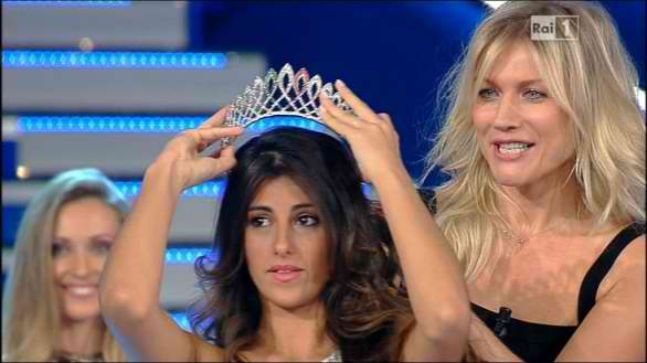 Miss Italia nel Mondo 2012 winner Aylen Nail Maranges from Argentina