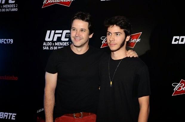 A disputa pelo cinturão do UFC, no Rio de Janeiro, vários famosos assistiram a luta de José Aldo