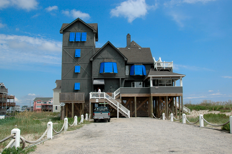 """night in the rodanthe The inn from """"nights in rodanthe:"""" rescued and renovated this romantic inn with blue shutters from the richard gere-diane lane tear-jerker nights in rodanthe used to sit on the edge of the pea island wildlife refuge in north carolina's outer banks."""