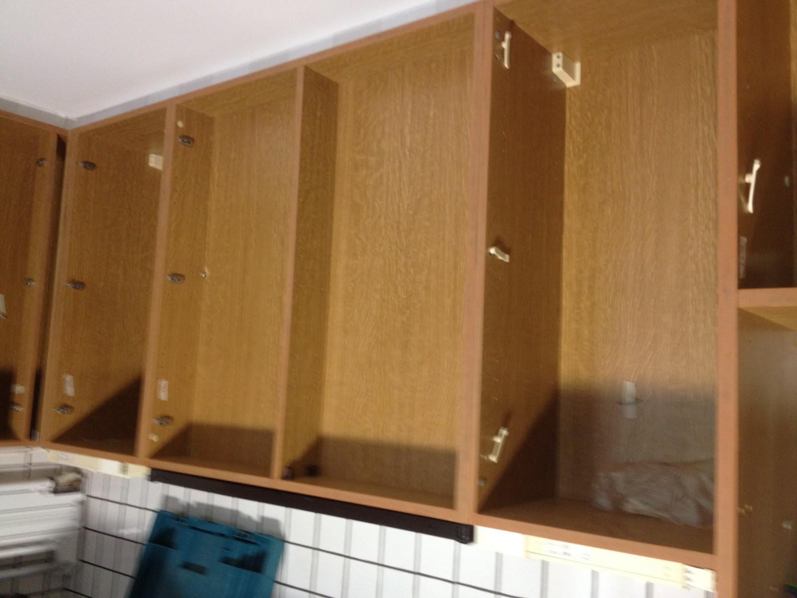 Fineer Keuken Verwijderen : van eiken keukens: Demonteren van een eiken keuken voor renovatie
