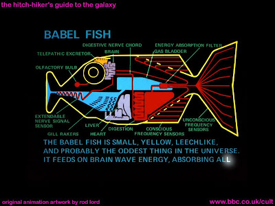 Babel Fish from Hitchhiker's Guide To The Universe