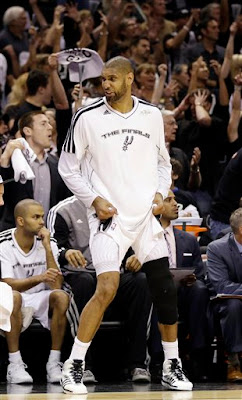 Tim Duncan 2013 Finals Loss, Tim Duncan Finals