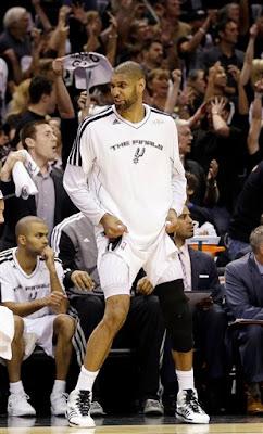 Tim Duncan 2013 Finals Loss, Tim Duncan Finals