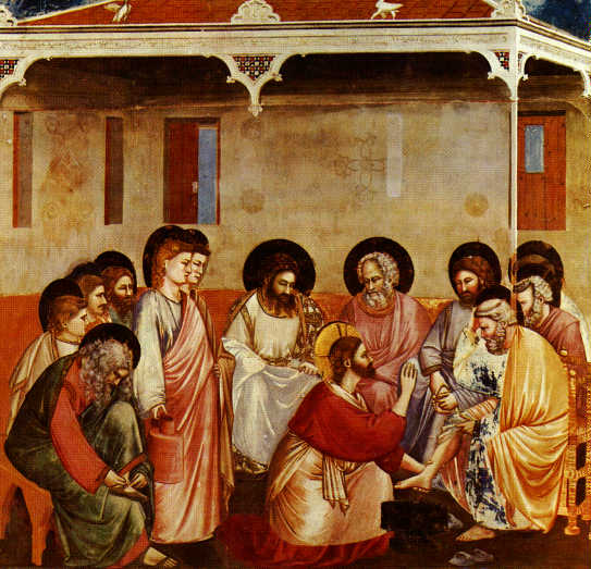 the symbolism of the practice of washing feet in the scriptures of john 13 Interestingly, john is the only one of the four gospel writers to record jesus humbly washing the feet of his disciples during passover john, the last gospel writer, may have wanted to include information matthew, mark and luke left out.