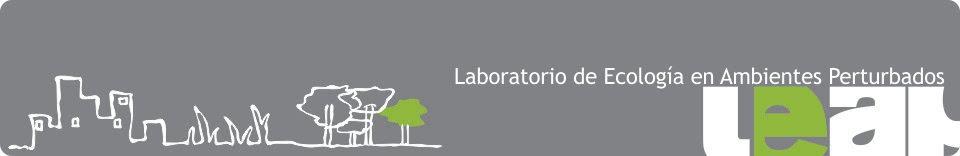 LEAP: Laboratorio de Ecología en Ambientes Perturbados