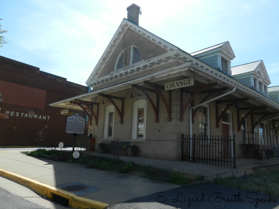 Orange Train Depot, Orange, Virginia