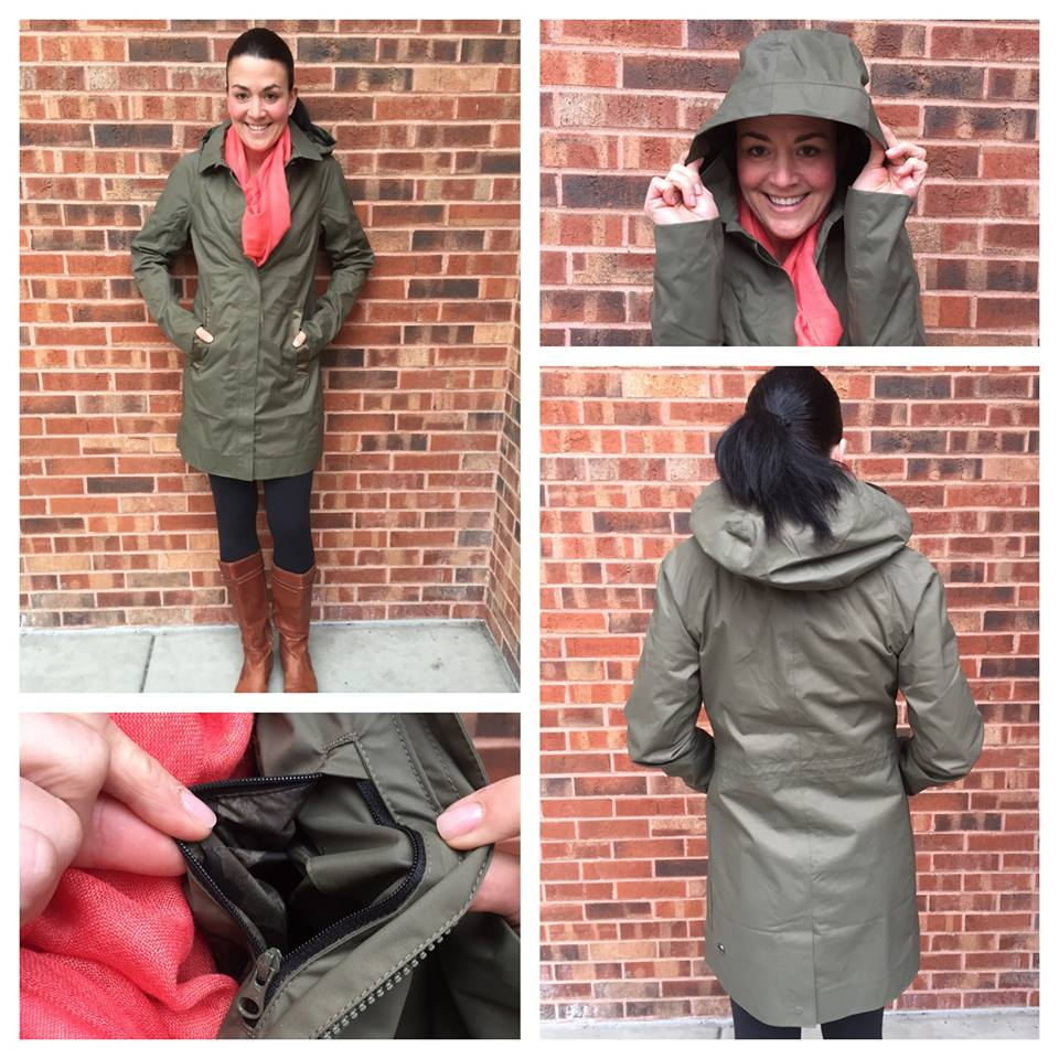 lululemon rain jacket