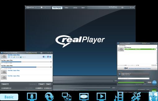 تحميل ريل بلير برابط مباشر كامل برنامج تشغيل rmvb الصوت الاغاني mp3 الافلام ريال بلاير RealPlayer 2013