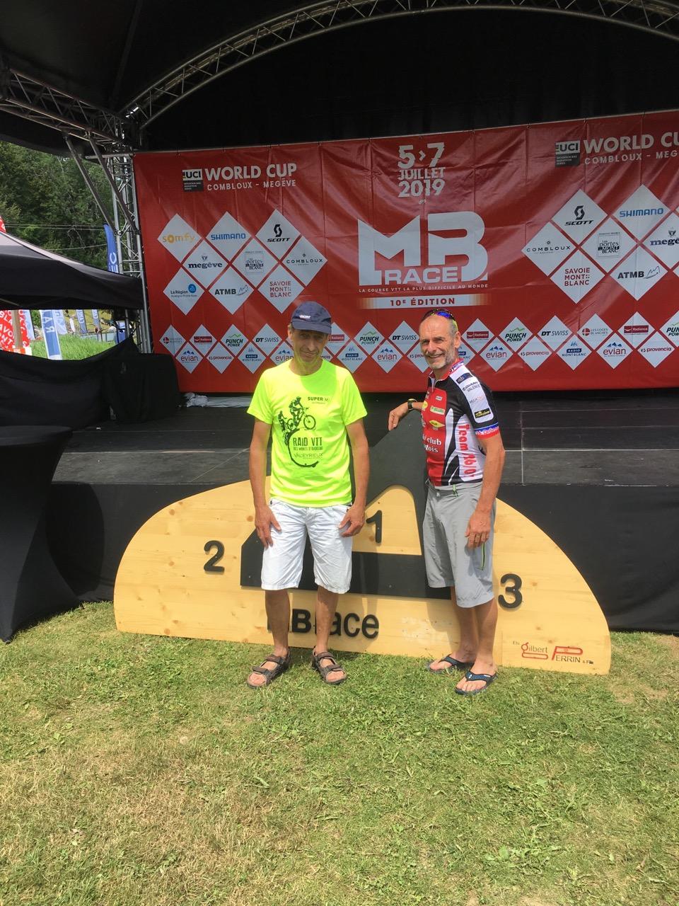 Marc Balaskovic 1er Master 3 sur le 35 km à la MB RACE
