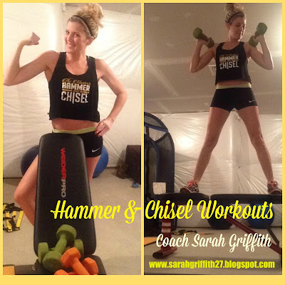 hammer and chisel, the masters hammer and chisel, hammer and chisel test group, sagi, autumn calabrese, sarah griffith, top beachbody coach, elite beachbody