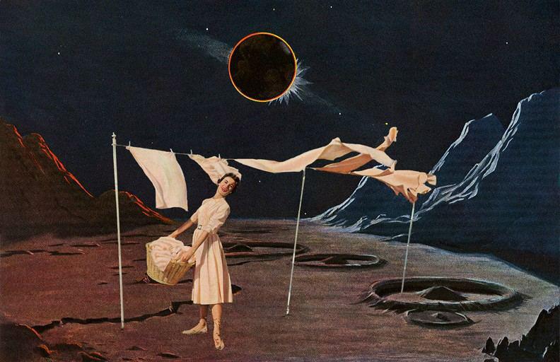Nadine Boughton. Collage