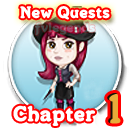 FarmVille Haunted Hollow Chapter 1 (I) Quests Icon