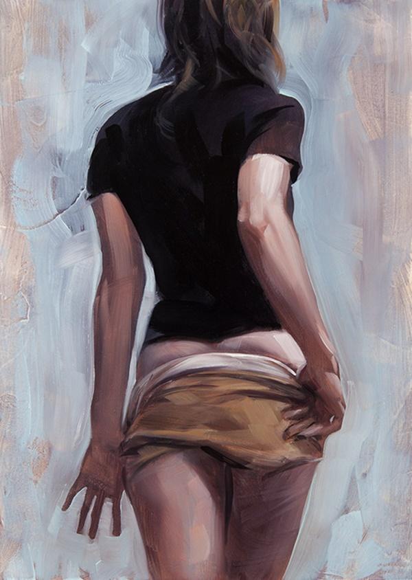 Sanderson orr nude painting