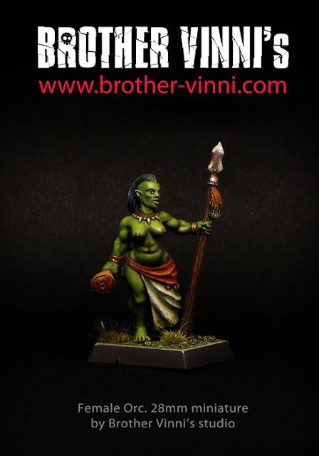 Novedades de Brother Vinni: Hembra Orco