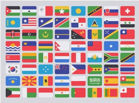 Free Flat Flags