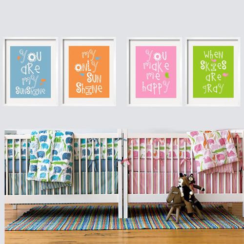Mamypops habitaci n de beb s mellizos ni o y ni a for Cuartos para nina y nino juntos
