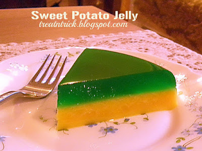sweet potato jelly recipe @ http://treatntrick.blogspot.com
