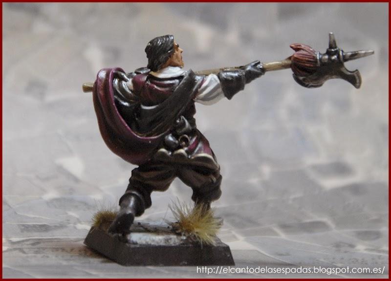 El Canto de las Espadas Miniatures. Guarnicionero-ysbilia-antiuo-regimen-capa-espada-warhammer-mordheim-empire-proxie-3
