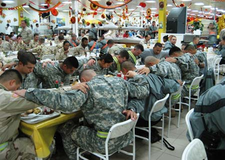 HAPPY THANKSGIVING TO OUR TROOPS  