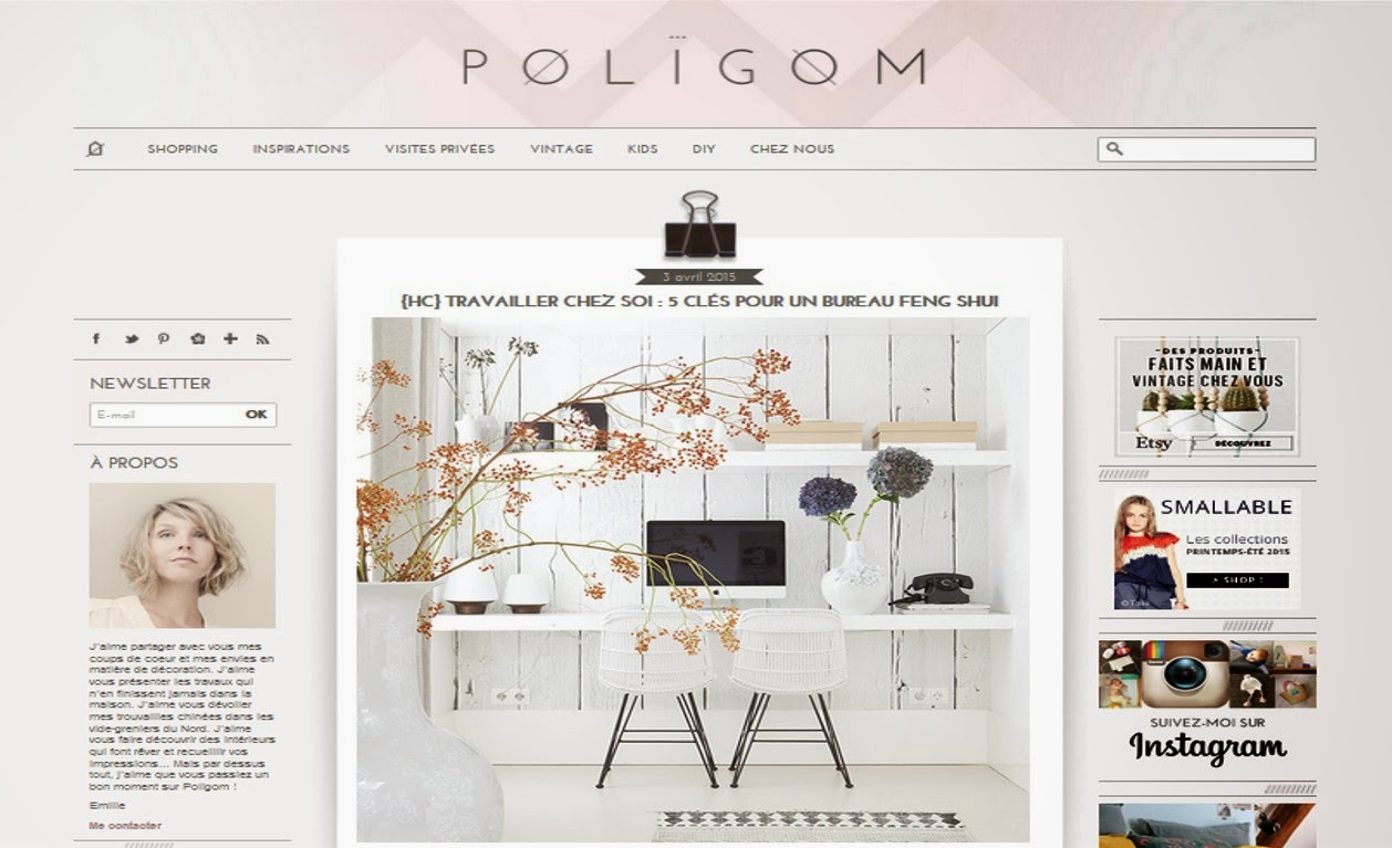 Poligom blog déco bloggeuse Emilie inspiration shopping déco enfants kids