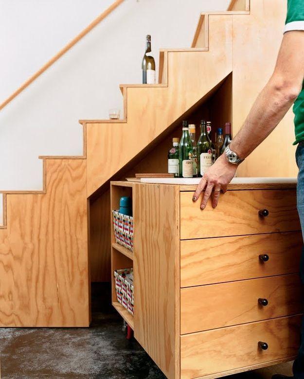Ideas y muebles que adem s de originales son tiles para - Aprovechar espacios en casa ...