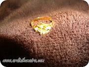 Dah tercabut permata cincin pertunangan daku...