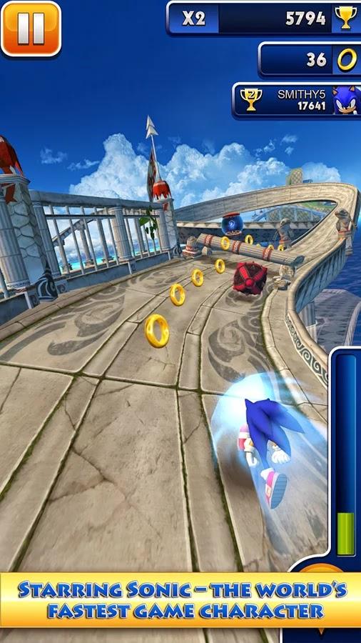 Android Sonic Dash Apk resimi 5