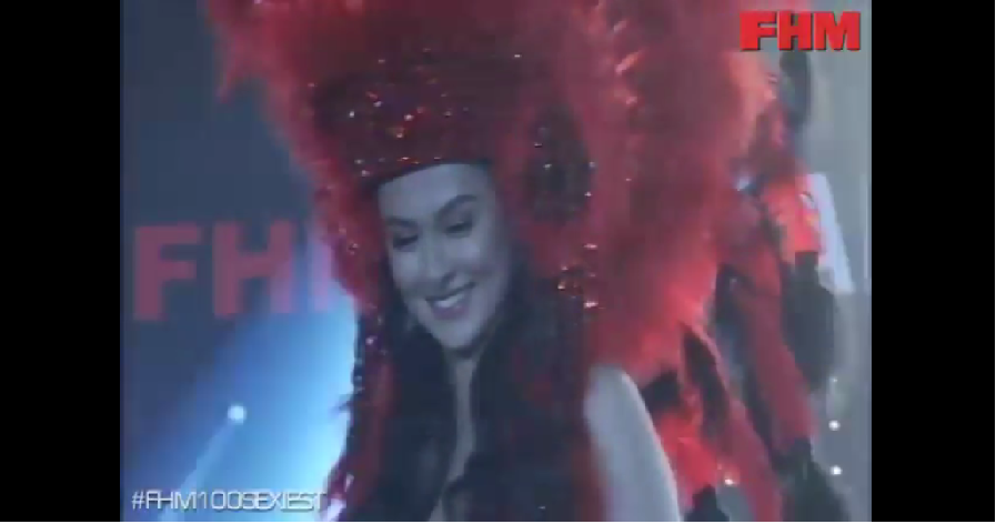 Marian Rivera's outfit at the FHM100Sexiest Victory Party at WTC