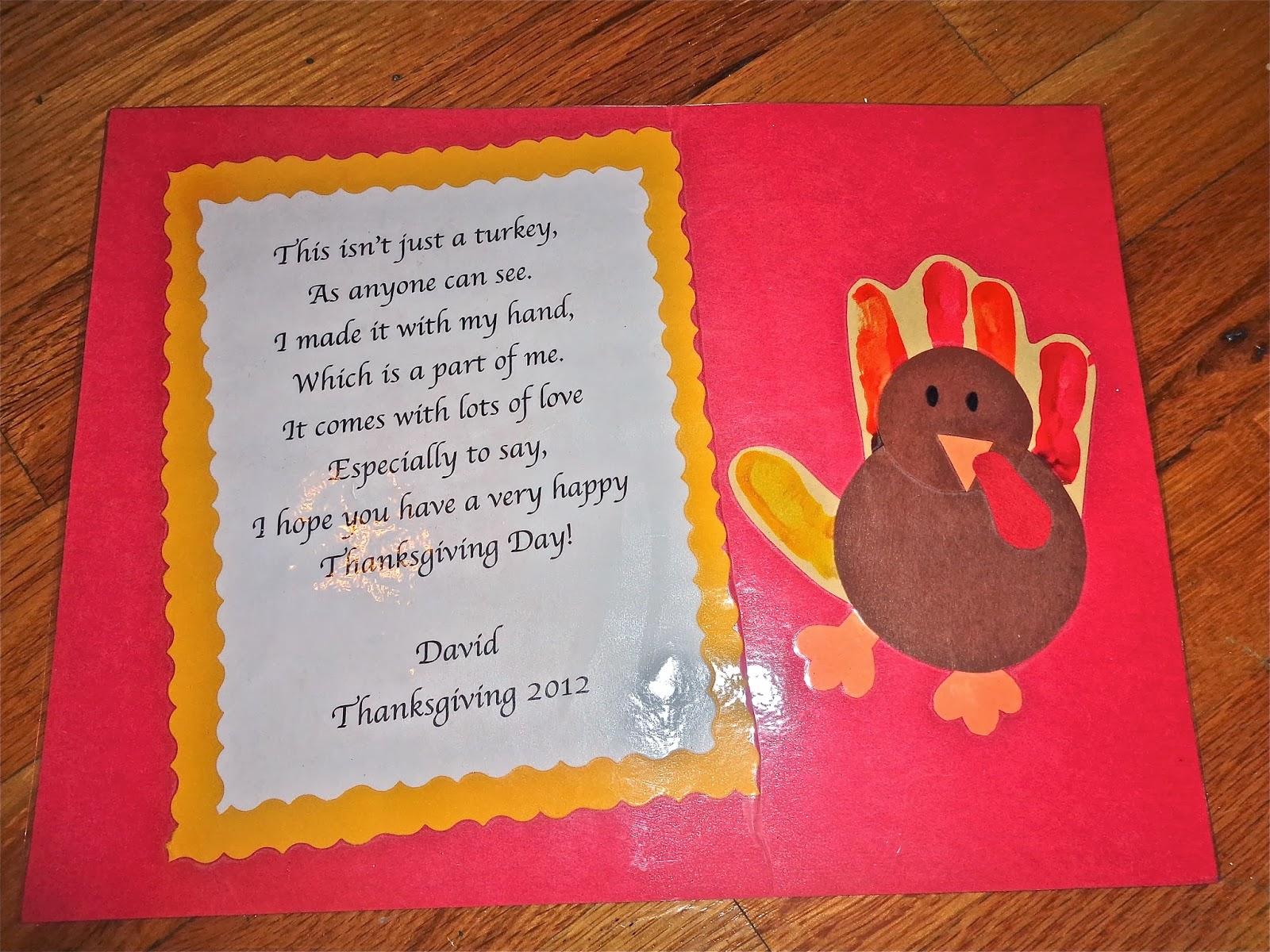 Terrific preschool years: thanksgiving placemats