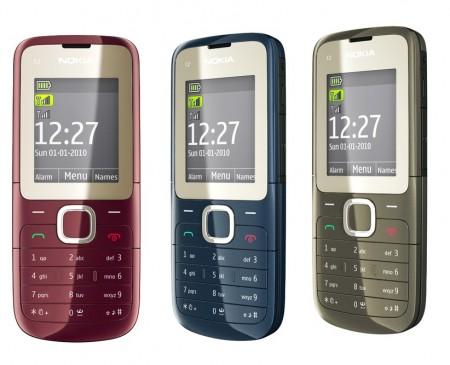 Spesifikasi,Harga Nokia C2-00 Dual Sim Card.