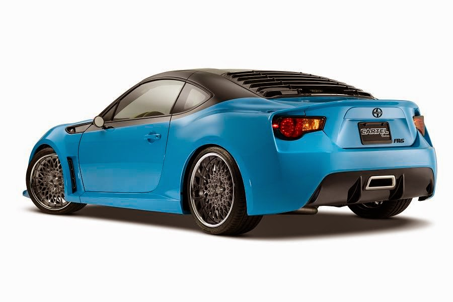 Scion FR-S (Cartel Customs T1) (2014) Rear Side